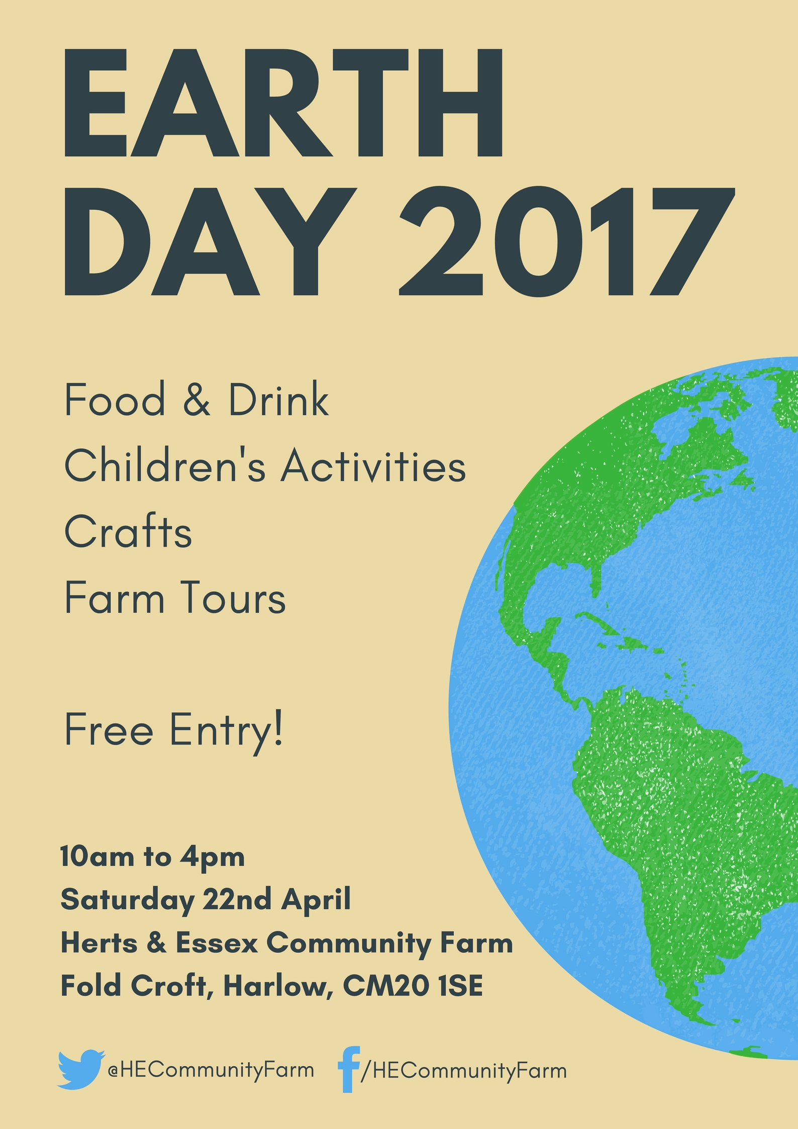 Herts & Essex Community Farm | Earth Day 2017